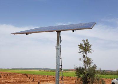 Bombeo Solar Aislado